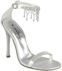 Image result for prom silver shoes