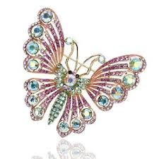 The butterfly brooch