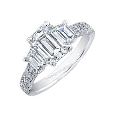 certified 2.00 CT TDW diamond solitaire engagement ring14 k white gold D #Solitaire