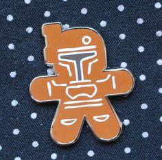 Disney Pin 2015 STAR WARS Gingerbread Series Mystery Boba Fett