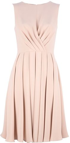 Valentino Sleeveless Dress - Lyst so classy. it would be nice to have one in several colors