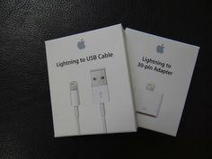 「Lightningケーブルと30ピンアダプター追加購入」  2012/12/08