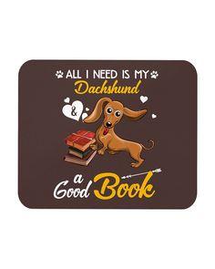 All I Need Is My Dachshund Dog A Good Book Mugs - Chocolate mini walrus puppy, beagle puppy, chiweenie puppy #dachshundlove #dogsofinstagram #doggy, dried orange slices, yule decorations, scandinavian christmas Dapple Dachshund Puppy, Dachshund Funny, Black Dachshund, Dachshund Puppies For Sale, Dachshund Quotes, Standard Dachshund, Mini Dachshund, Daschund, Dog Quotes