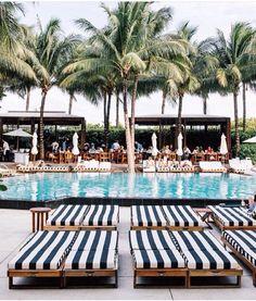 The 'W' Hotel • Miami Beach, Florida