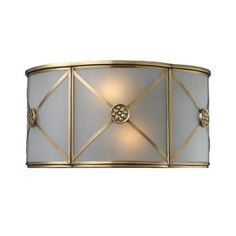 Elk Lighting Preston 2 Light Wall Sconce