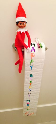 Day 11: Elf on the shelf, JAMI wanted to surprise Maddi and wish her happy 7th birthday!