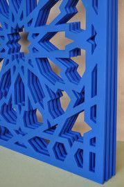 Carved pieces. Coffering - Andaluciart Celosías y Tallados | Arte en Celosías Decorativas