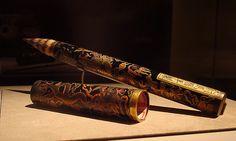Pincel para caligrafía con diseño de dragón