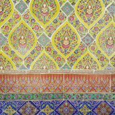 Thai inspired color pantone