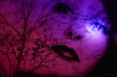 The woman with moonlight in her eyes by ceca67, via Flickr