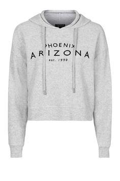 Arizona Brushed Hoody Topshop