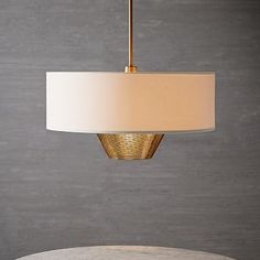 Mid-Century Pendant #westelm This is pretty simple, and bright b/c it uses up to a 150 watt bulb. I get a 10% discount at West Elm