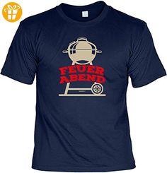 Griller T-Shirt - FEUER ABEND - FunHemd für BBQ und Grillen - Shirts mit spruch (*Partner-Link)