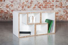 TETRA - Online store: www.cardboard.es #cardboard #furniture #eco #ecofriendly #reboard #design #ecohouse  #modular #shelf