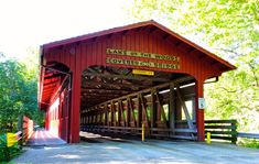 9 Beautiful and Historic Covered Bridges In Illinois