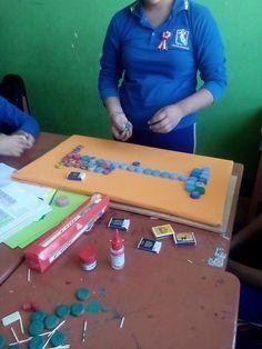 tabla peridica en construccin - Tabla Periodica En Material Reciclable