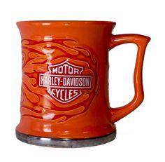 Harley D Mugs Harley Davidson Gifts, Mug Shots, Coffee Mugs, Cups, Logo, Glasses, Mugs, Logos, Logo Type