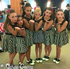 Maddie, Mackenzie, Nia, Jojo, Kalani, and Kendall