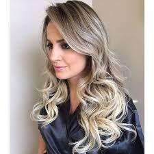 cabelo loiro claro com raiz escura - Google Search