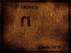 Down in It- Nine Inch Nails