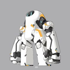 Today's collection is just a robot mechanic Conception Robot, Character Concept, Character Art, Mode Cyberpunk, Beton Design, Robots Characters, Arte Robot, Cool Robots, Robot Concept Art