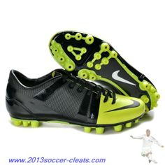 447fb05710e32 Authentic Neymar Nike Launch GS AG in Black Green For Wholesale Tenis Nike  2014