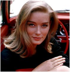 Tania Mallet Tilly Masterson in Goldfinger (1964).
