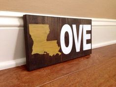 Hey, I found this really awesome Etsy listing at https://www.etsy.com/listing/199345052/louisiana-love-wood-sign-custom-lousiana