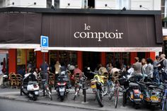 101 Best Hotel Restaurants Around the World  53. Le Comptoir at Hôtel Relais Saint Germain (Paris)