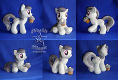 COMMISSION: Charcoal Bakes 10 inches plushie by SunflowerTiger.deviantart.com on @DeviantArt