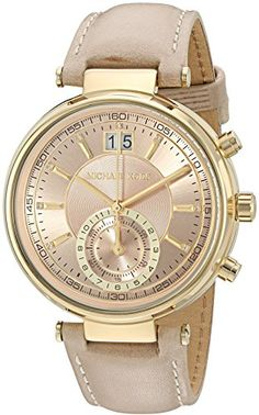 Michael Kors Women's Quartz Stainless Steel and Leather Automatic Watch, Color:Pink (Model: MK2529) https://www.carrywatches.com/product/michael-kors-womens-quartz-stainless-steel-and-leather-automatic-watch-colorpink-model-mk2529/ Michael Kors Women's Quartz Stainless Steel and Leather Automatic Watch, Color:Pink (Model: MK2529)  #Chronographwatch More chronograph watches : https://www.carrywatches.com/tag/chronograph-watch/
