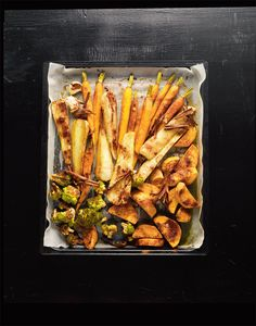 Vegetables with cinnamon