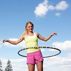 Hoop Yourself Slim With This Hula-Hoop Workout | health.com