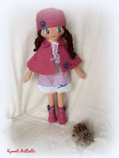 Doll for Play - by Kymeli . Soft Dolls, Doll Clothes, Play, Christmas Ornaments, Holiday Decor, Handmade, Hand Made, Christmas Jewelry, Christmas Decorations