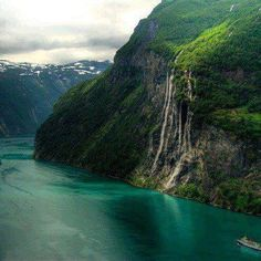 Seven Sisters' Fall, Norway