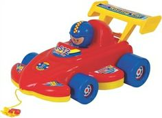 ANAND RACING CAR  This adorable toy is suitable for boys and girls aged between one and four years offered by www.shopit4me.com