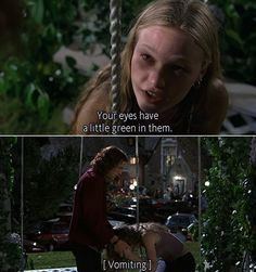 "Because every moment between these two… | 24 Reasons ""10 Things I Hate About You"" Was Absolutely Iconic"