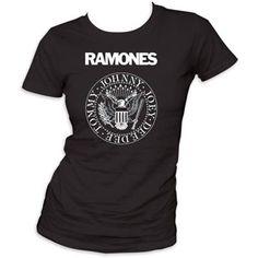 Ramones Presidential Seal Women'S Junior / Girls T-Shirt