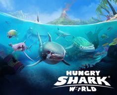 Ubisoft anuncian el estreno de Hungry Shark World - https://webadictos.com/2016/04/23/ubisoft-hungry-shark-world/?utm_source=PN&utm_medium=Pinterest&utm_campaign=PN%2Bposts