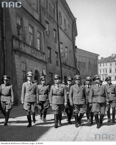 Hans Frank in Lublin Poland Catholic Priest, World War Ii, Wwii, Poland, German, Portrait, American, People, Historia