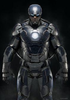 captain-america-captain-style-iron-man-armor-captain-iron