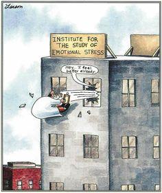 "Therapy humor ""The Far Side"" by Gary Larson. Cartoon Jokes, Funny Cartoons, Funny Comics, Math Comics, Gary Larson Comics, Gary Larson Cartoons, Far Side Cartoons, Far Side Comics, Laugh Till You Cry"