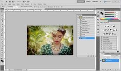 How to creat a vignette in Photoshop.