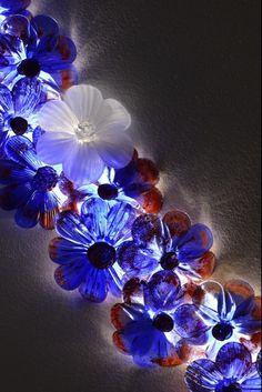 Would you like a neverending flower?- ZEN EN by #Khidr #andromeda #murano #glass #lighting #flower #design #architecture