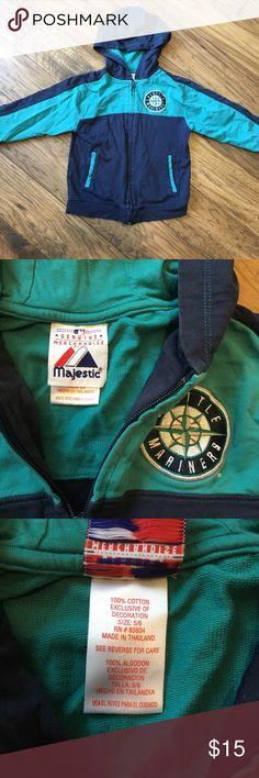 Seattle Mariners Zip Hoodie Great condition full zip hoodie. Majestic Shirts & Tops Sweatshirts & Hoodies