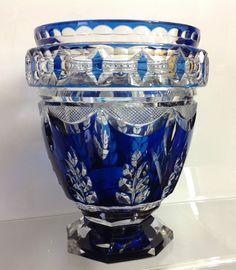 Vase modèle 'Nordique' Joseph Simon du Val Saint Lambert