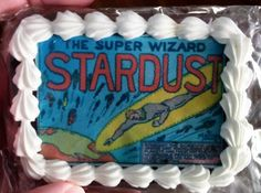 The Golden Age Bakery Recreates An Entire 'Stardust The Super Wizard' Story On Delicious Cookies