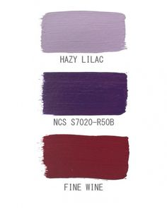 Dark Purple Palette...love these colors, so warm with gothic beauty