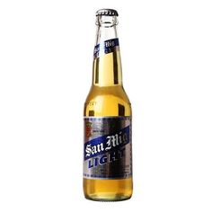 San Mig Light Beer | RedMart Light Beer Selection. San Mig Light Beer is a pale pilsner beer with fewer calories but the same full flavor of San Miguel's world-class brew.