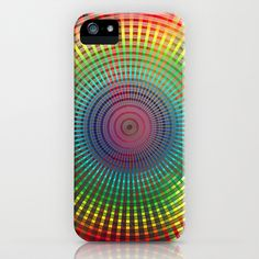 1000 colors circles iPhone & iPod Case by Dirk Wuestenhagen Imagery - $35.00